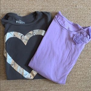 Children's Place, Long Sleeve, Tee Shirts- 10/12